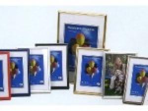 Rama foto imitatie lemn 15x21 cm